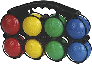 IMAGIN Boules de pétanque Enfant - 8 Boules avec cochonnet - Plastique