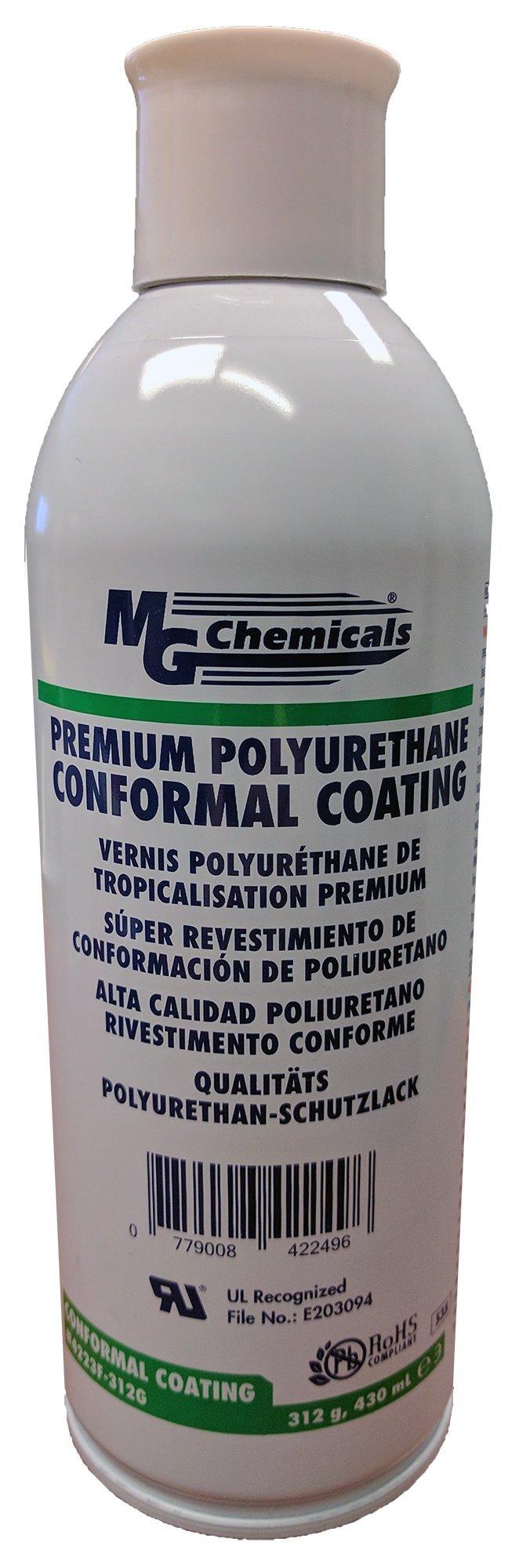 MG Chemicals Premium Polyurethane Conformal Coating, 11 oz, Aerosol