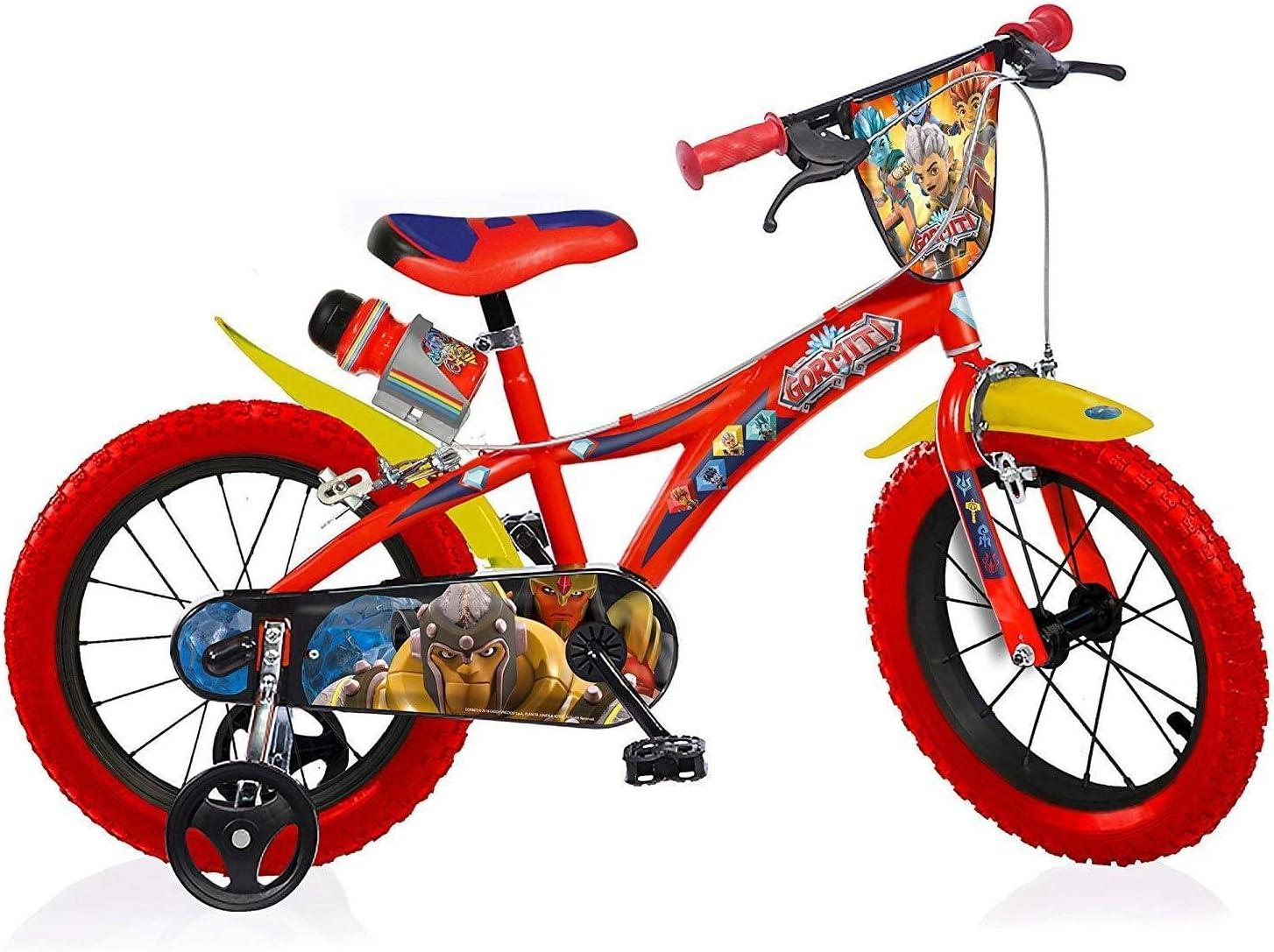 Gormiti Bicicleta Infantil Niño Chico 14 Pulgadas Freno Delantero ...