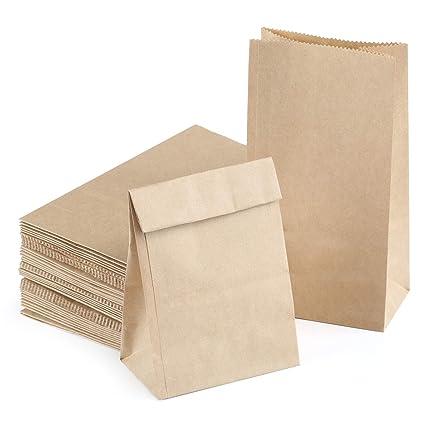Kesote - 50 bolsas de regalo para caramelos (18 x 9 x 5,5 cm ...