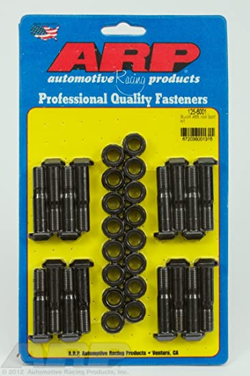 ARP 125-6001 High-Performance 8740 Complete Rod Bolt Kit Buick All Models