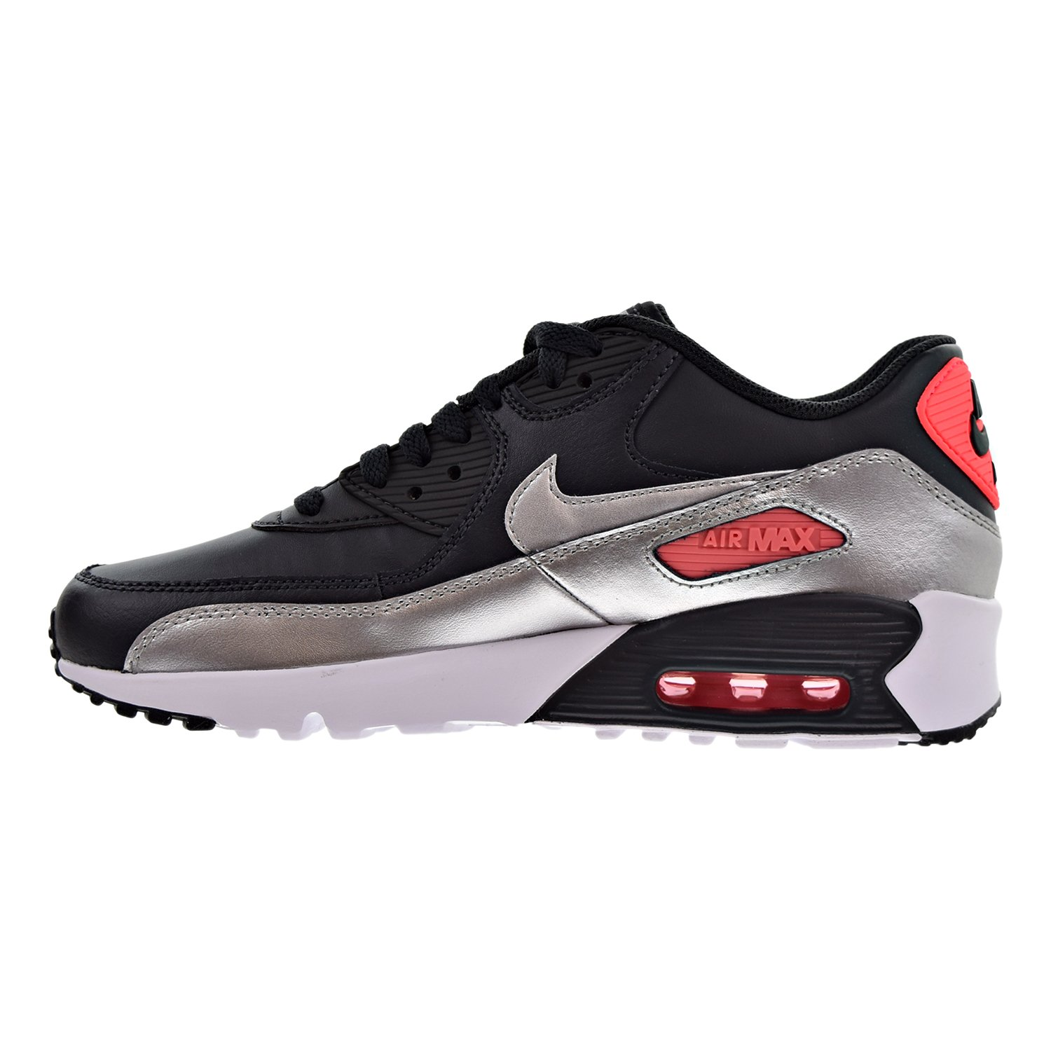 f78c56230f Amazon.com | Nike Kids Air Max 90 LTR (GS) Running Shoe | Sneakers