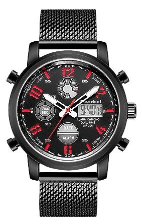 Amazon.com: Tonnier - Reloj de pulsera para hombre, acero ...