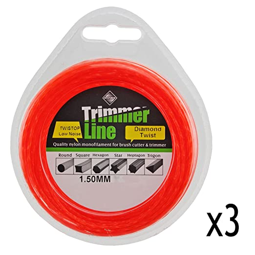 Spares2go - Carrete de bobina de bajo ruido para cortacésped Worx ...
