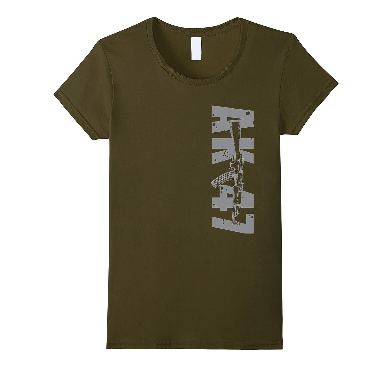 AK47 My Gun Shirt, Come Get It USA Bear Arms 2nd Amend