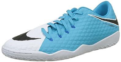 e9e7a587d NIKE New Men s Hypervenomx Phelon III IC Soccer Shoe White Photo Blue 9.5