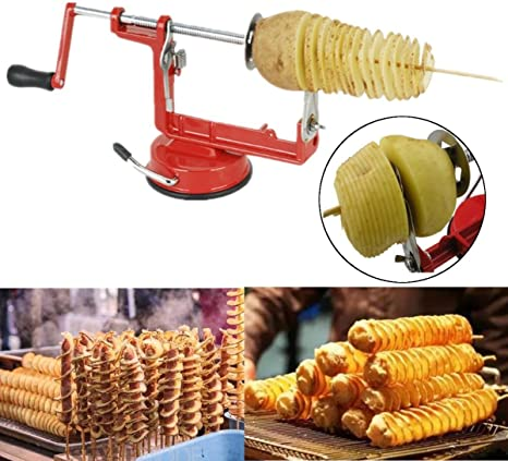 F775 Stainless Steel Twisted Potato Tornado Spiral French Fry Cut Vegetable Cutt