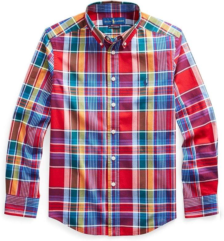 Polo Ralph Lauren - Camisa Fall I Red MU-LS BD-TP-SHT-Camisa para NIÑO Ralph Lauren: Amazon.es: Ropa y accesorios