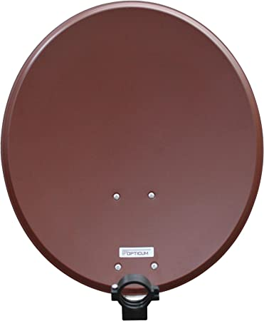 Opticum QA 60 de Acero Antena parabólica (60 cm) de ladrillo