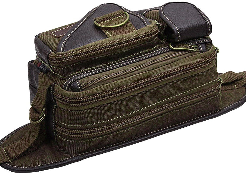Genda 2Archer Men Vintage Waist Bag Leisure Bumbag