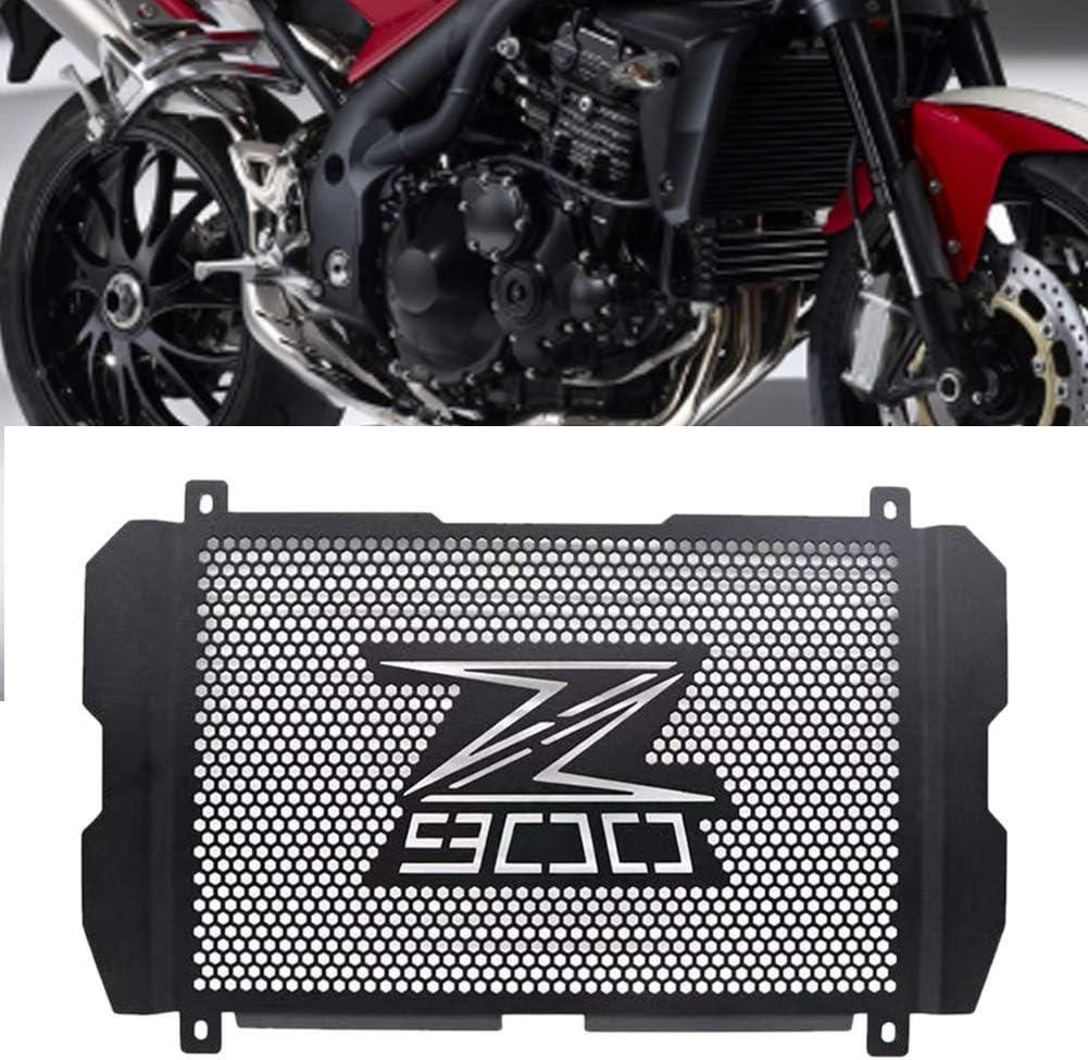 Cubierta protectora para rejilla de radiador de motor de motocicleta, de acero inoxidable, para Kawasaki Z900 17 – 19, As Picture Show, 422 x 244mm