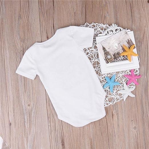 Amazon.com: Lanhui bebé recién nacido niños niñas Body ...