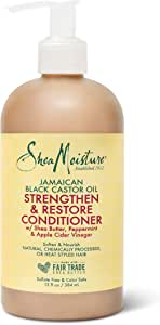 Shea Moisture Jamaican Black Castor Oil Strengthen and Restore Conditioner, 384 ml
