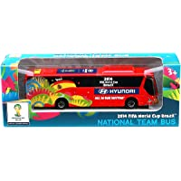 Maisto - Autobús Oficial FIFA Hyundai, Escala 1:95, Color Rojo (24023E)