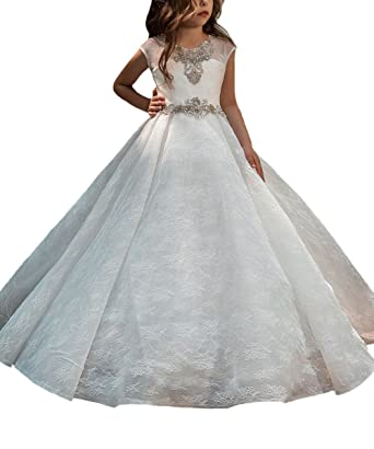 491a8e4dea Gorgeous Flower Girl Dress for Wedding Kids First Communion Gowns Ivory  Size 2