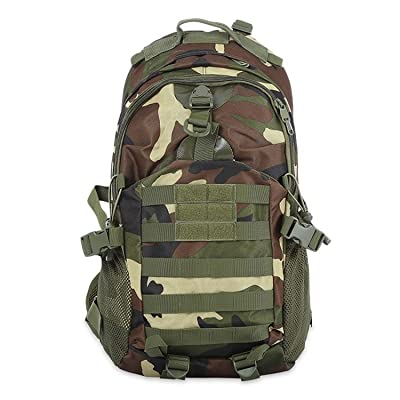 Chopstick Tactical Camouflage Backpack Rucksack Outdoor Sport Climbing Hiking chic