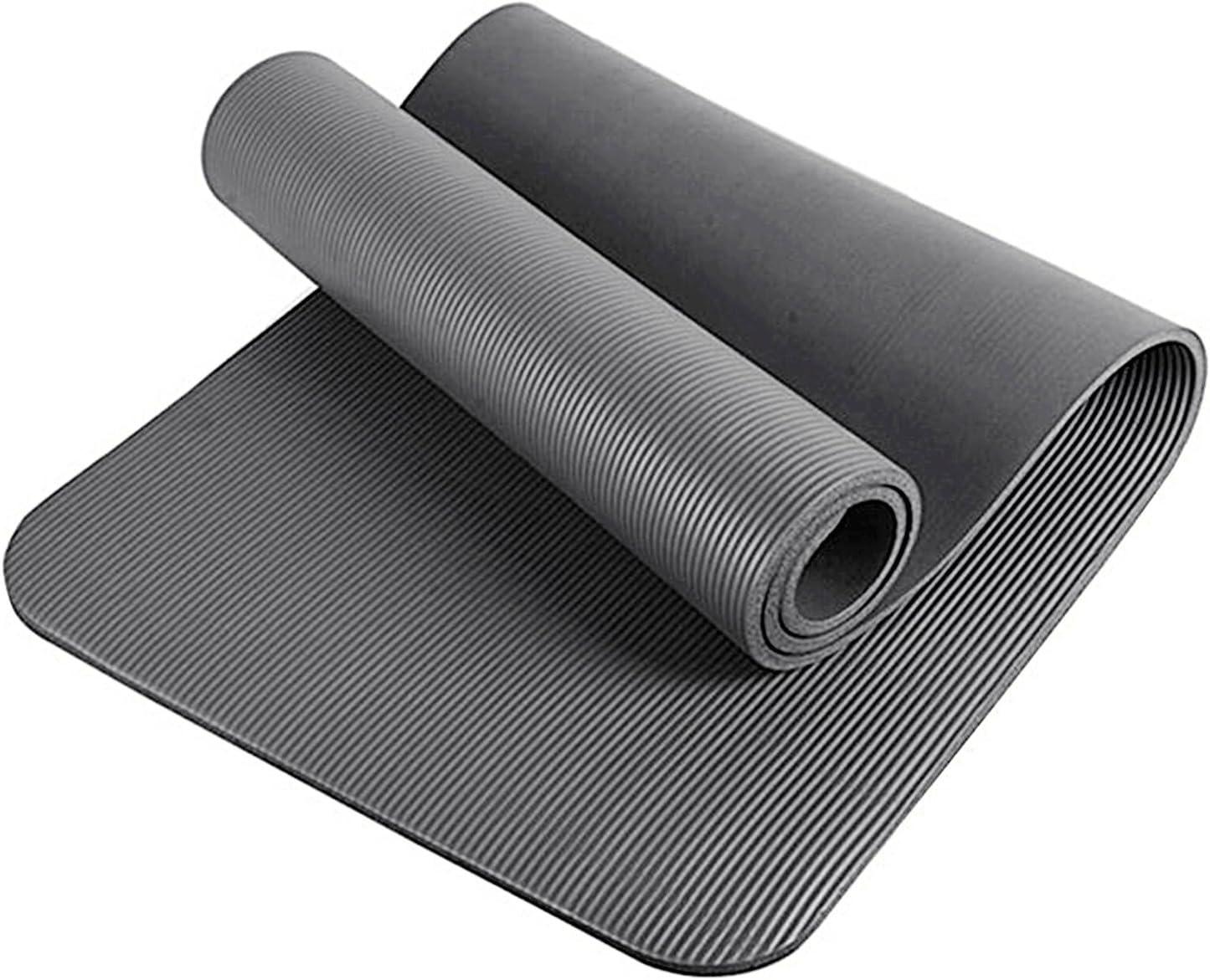 Glamexx24 Tapis de Fitness XXL Tapis de Yoga Tapis de Gymnastique Pilates Extra /épais et Doux id/éal pour Le Pilates la Gymnastique et Le Yoga