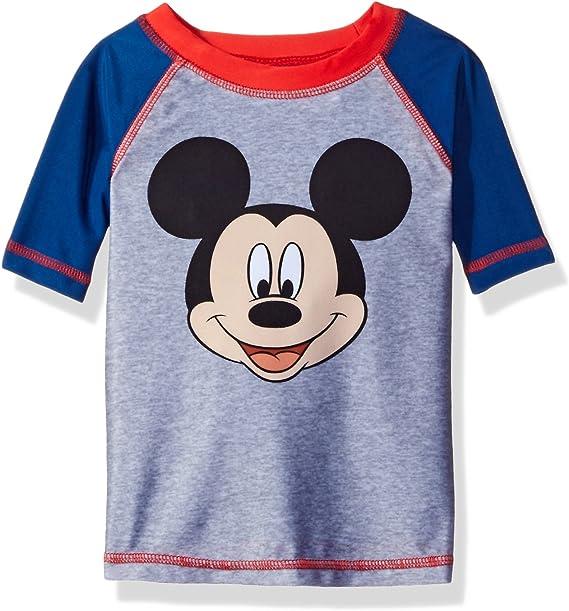 Disney Little Boys Mickey Mouse Rash Guard Swimwear