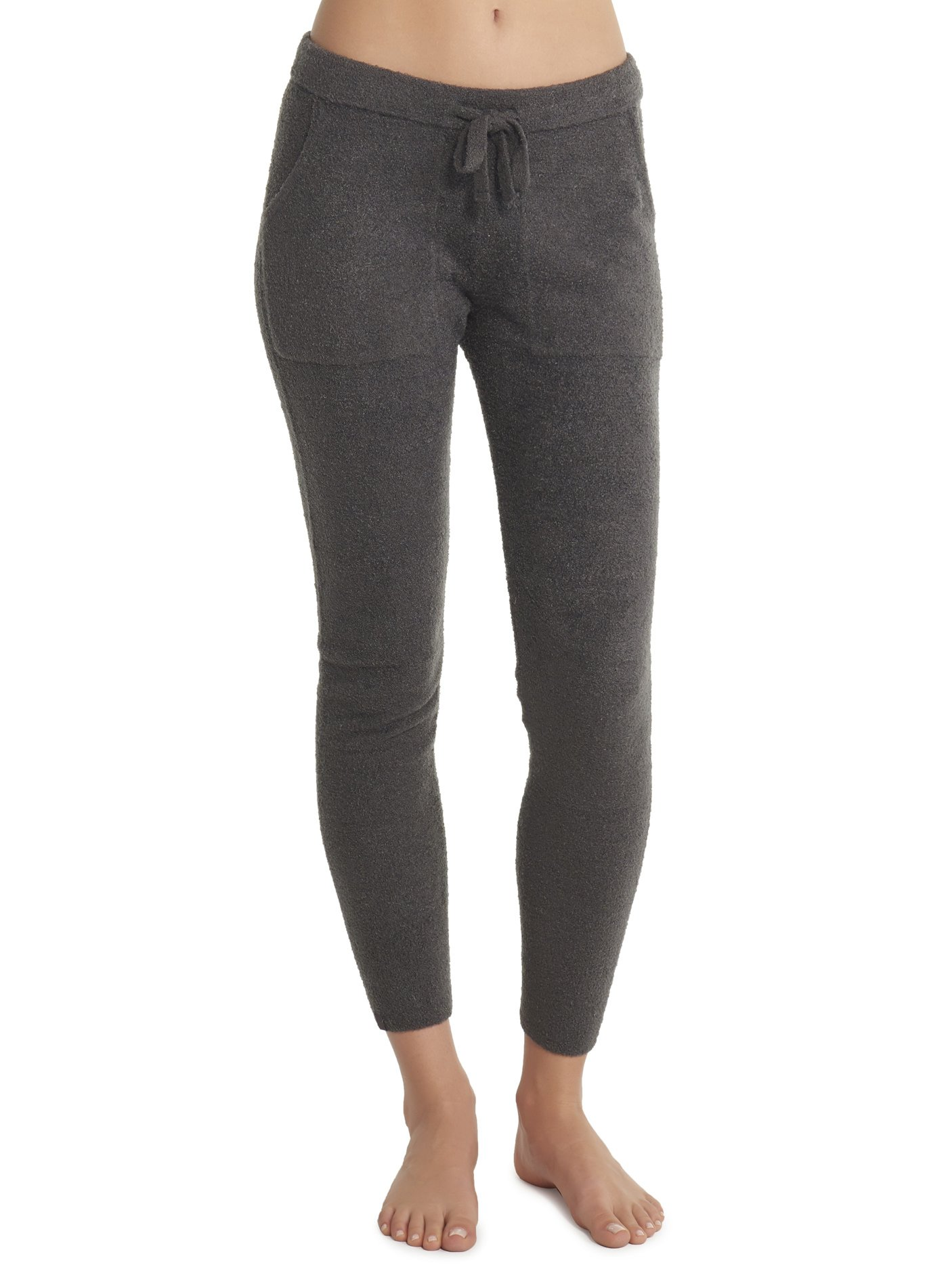 Barefoot Dreams CozyChic Lite Joggers Pants For Women - Carbon – Medium by Barefoot Dreams