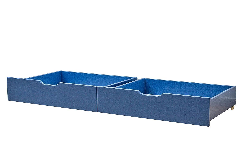 Hoppekids My Couleur 36–1006–79–000 Set de tiroir sur roulettes pour junior-lit d'enfant avec zone de 90 x 200 cm