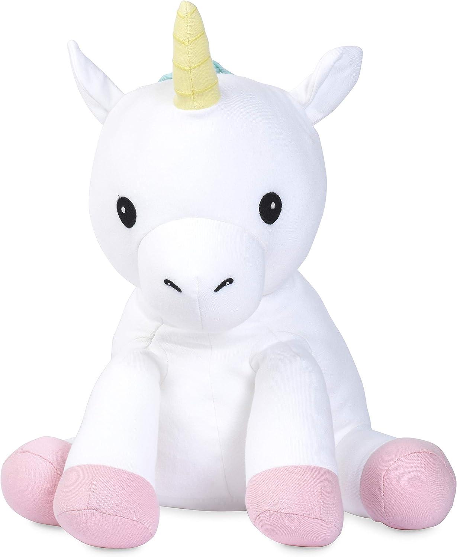 Organic Stuffed Animal 8 in Elly Lu Rainbow The Unicorn