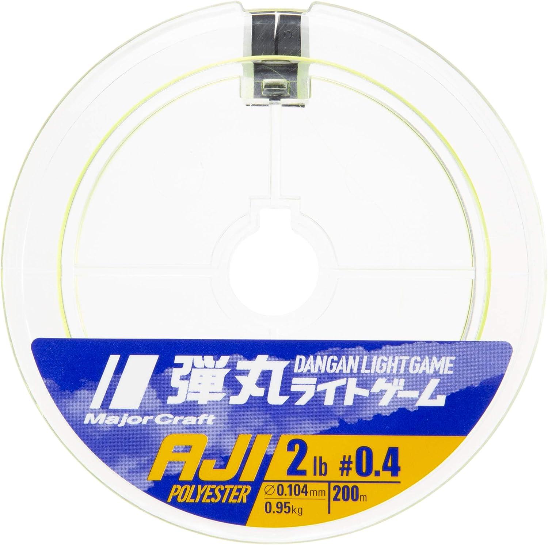 Major Craft AJI 200 m, 0,104 mm Juego de Luces de poli/éster
