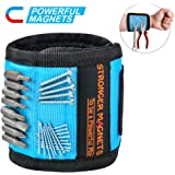 Magnetic Wristband Tool Gifts For Men - Stocking Stuffers Gifts For Dad Upgraded Stronger Magnetic Tool Belt, Unique…