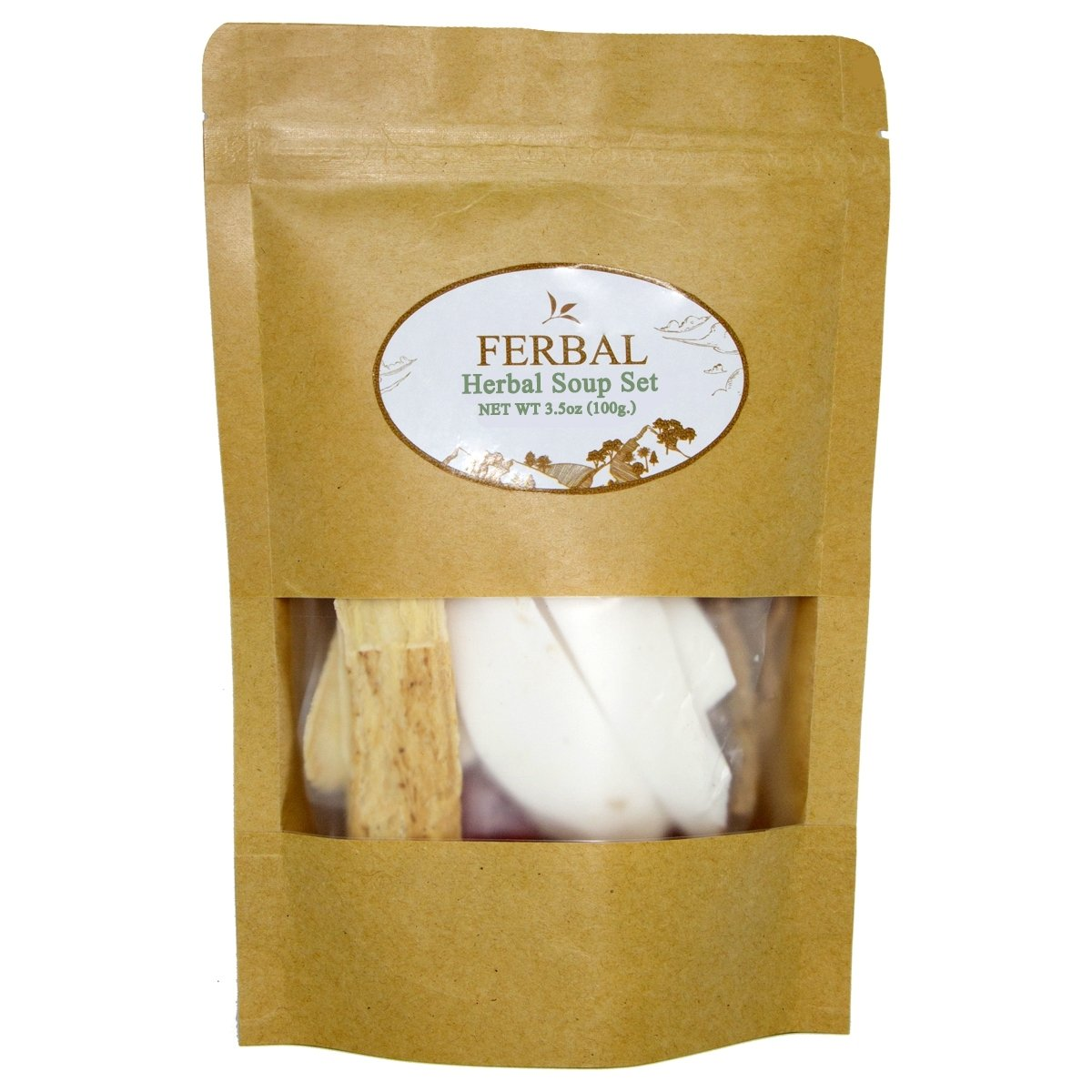 Ferbal Chinese Herbs Soup Dried Herbal SetMix Superfood Easy Cooking 100g