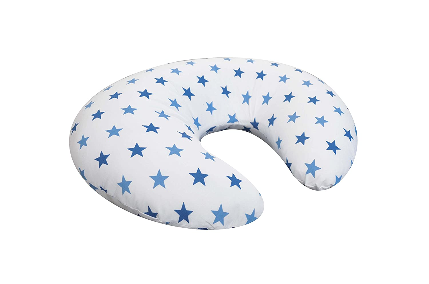 Cuddles Collection Twinkle Star Nursing Pillow, Blue Cuddles Collection Ltd CCU11163