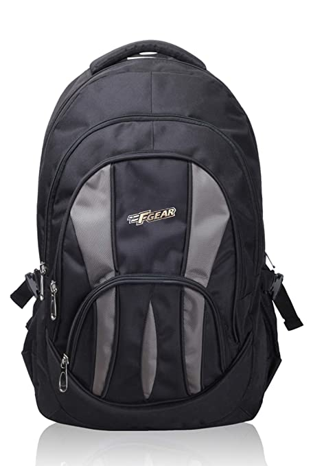F Gear Adios 36 Ltrs Black Casual Backpack (1855)  Amazon.in  Bags ... b64cbe97e961e