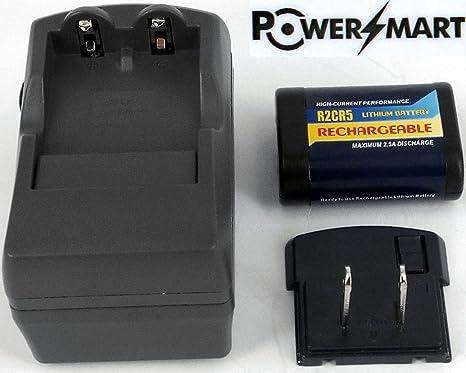 1 de R2CR5 batería Recargable + 1 de Cargador para Panasonic ...