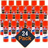 Elmer's Disappearing Purple School Glue, Washable, 24 Pack, 0.21-ounce sticks