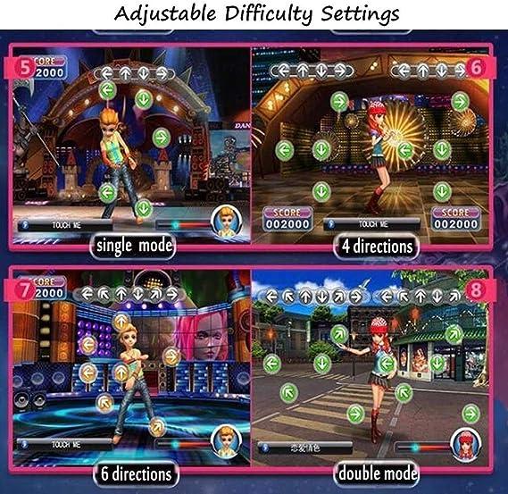 Amazon.es: HZK Correr Bailar Manta Doble 3D somatosensoriales Yoga Masaje Luminoso Manta TV Ordenador de Doble Uso Inicio del Juego del Color de la Consola: B WDDT (Color : C)