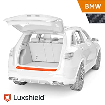 2.Gen. Typ F48 ab BJ 08//2015 inkl PR-Folia Ladekantenschutz Folie passend f/ür X1 ohne M-Paket Schutzfolie Autofolie RAKEL Carbon Optik