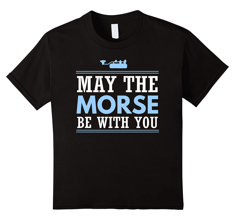 Morse Shirt Shortwave Ham Radio-Awarplus