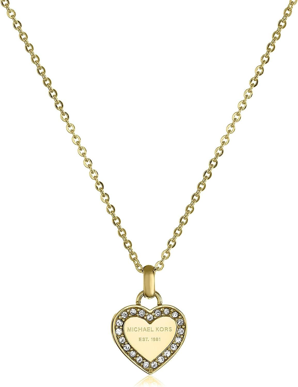 Michael Kors - Gold Tone Logo Heart