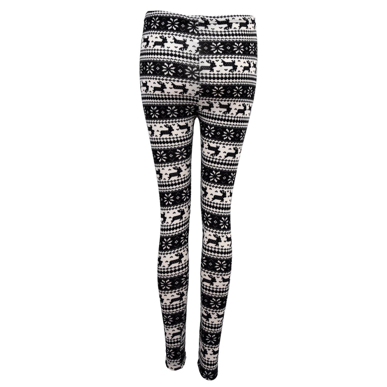 51301b938374 Amazon.com: Knitted Snowflake Pattern Leggings: Clothing
