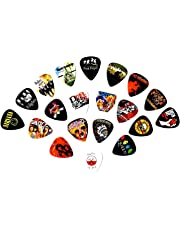 Legendary Bands Guitar Picks- [Mega-Standard] 20 picks in a packet