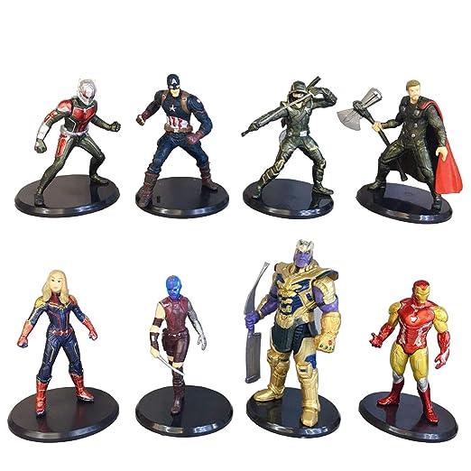 Jianyia Avengers Superhero Pastel de cumpleaños, decoración ...
