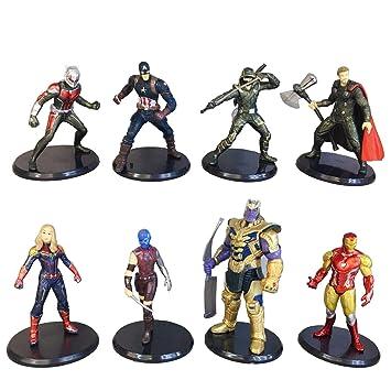 Amazon.com: Jianyia Avengers Superhéroe tartas de cumpleaños ...