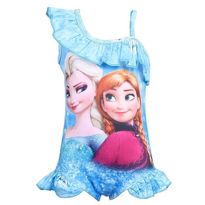 Amazon.com: Pnfly Frozen traje de baño de una pieza para ...