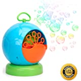 Kemuse Automatic Bubble Machine for Kids 500 Bubbles per Minute, Durable Bubble Maker with 4 AA Battery (not include)