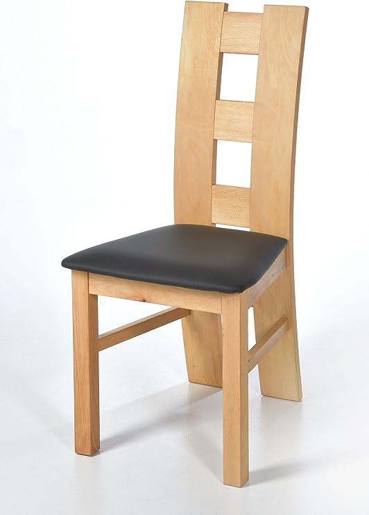 acerto 20062 Silla ROM para mesa de comedor haya * madera maciza ...