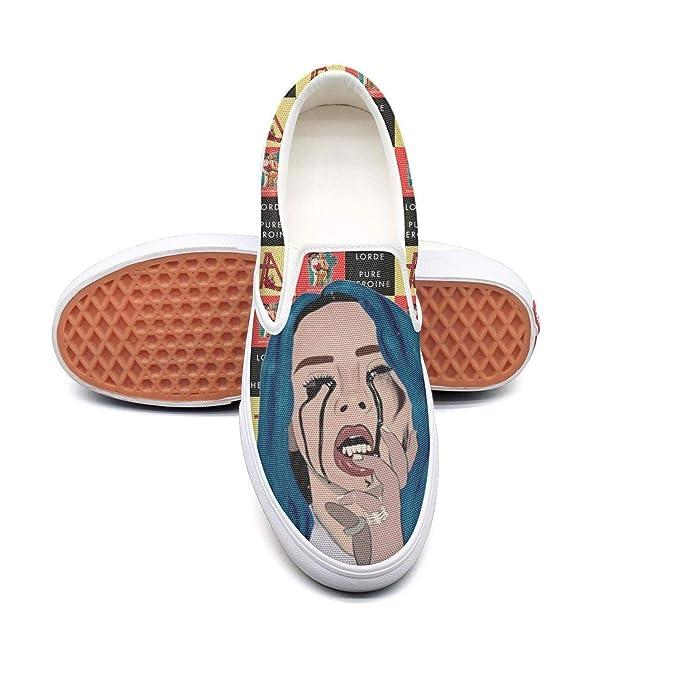 8b415cc6b52c0 Billie-Eilish Classic Canvas shoes Slip On Skate Sneakers men women unisex  Fashion Original Durable shoe