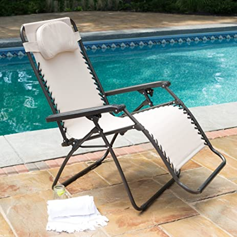 Premium Patio Chairs Zero Gravity Chair Caravan Canopy Lounge Outdoor Folding Oversized Recliner Toffee & Amazon.com : Premium Patio Chairs Zero Gravity Chair Caravan ...