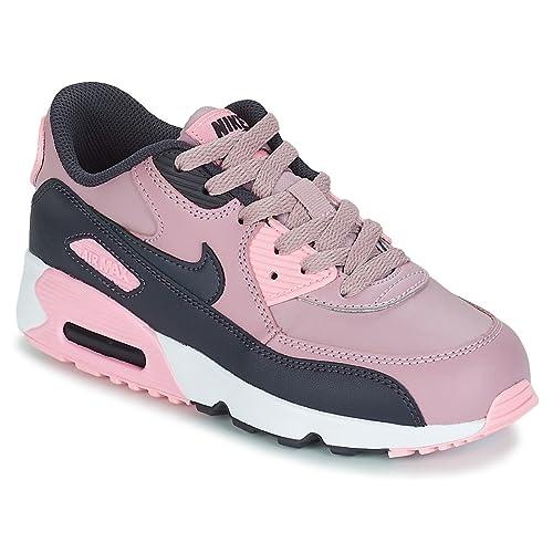 Nike Air MAX 90 LTR (PS), Zapatillas de Running para Niñas