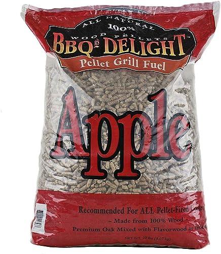 BBQR's Delight Apple Flavor Wood Smoking Pellets