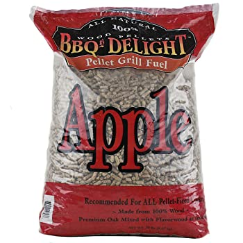 BBQR's Delight Apple Flavor Wood Pellets For Smoking