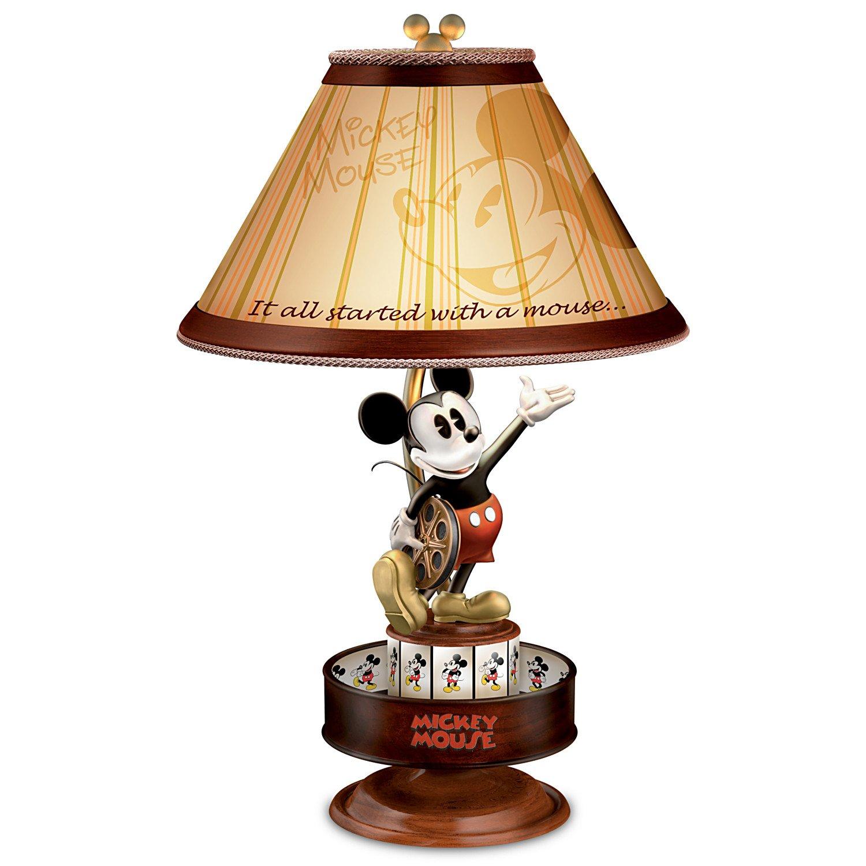 Disney Mickey Maus Lampe mit Spinning Animation und ...