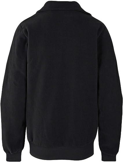 Bench Herren Sweatshirt Fleecejacke Core Funnel Fleece grau